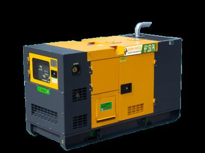 Conjoined 3500 kVA Bespoke Acoustic Diesel Generator